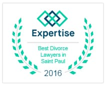 2016 Expertise best divorce lawyers in saint paul logo
