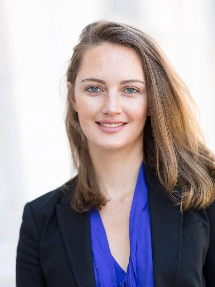 Maria Miller smiling