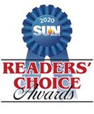 Readers Choice 2020 award ribbon